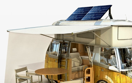 zonnepanelen camper