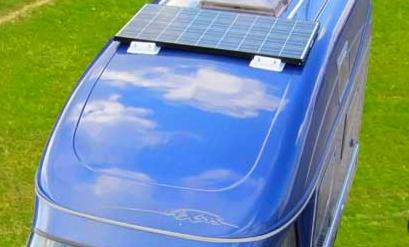 Camper zonnepanelen